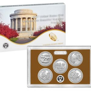 USA Set Quarters Proof 2017