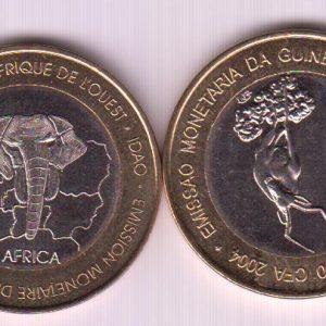 GUINEA BISSAU 6000 CFA 2004 Deer / Gazelle