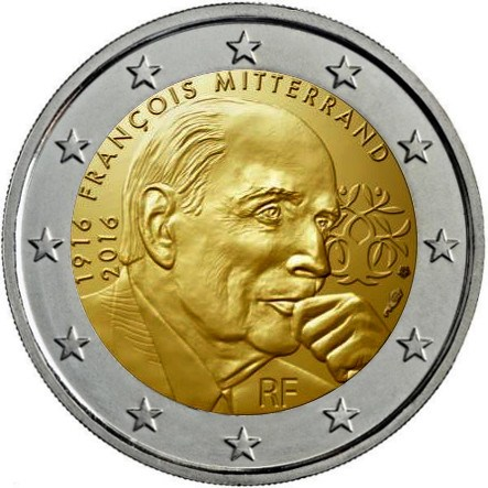 FRANCE 2€ 2016 Mitterand