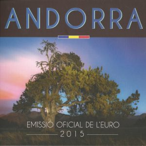 ANDORRA Euro BU Set 2015