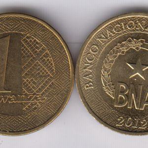 ANGOLA 1 Kwanza 2012 SPL/UNC