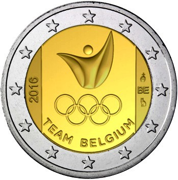 BELGIUM / Belgique 2 EUR 2016 Olympic team