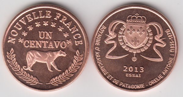 PATAGONIA / PATAGONIE 10 Centavos 2013 LLama SPL/UNC