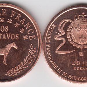 PATAGONIA / PATAGONIE 2 Centavos 2013 Horse SPL/UNC
