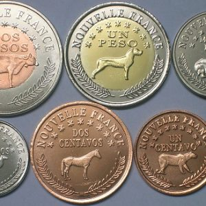 PATAGONIA / PATAGONIE Set6pcs 2013, unusual coinage, fantasy