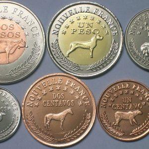 PATAGONIA lot 5x Set 6pcs 2013, unusual coinage