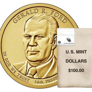 USA $1 2016P Gerald Ford bag of 100pcs