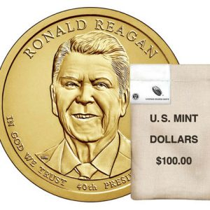 USA $1 2016P Ronald Reagan bag of 100pcs
