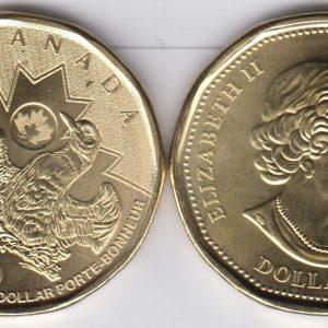 CANADA $1 2016 Rio Olympics
