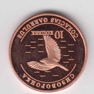 CRIMEA 10 Kopeek 2013 Bird, unusual coinage