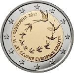 SLOVENIA 2€ 2017 10th Ann introduction of Euro