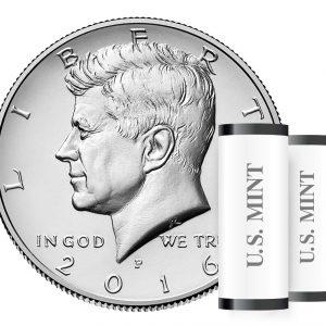 USA $½ 2016D, Roll of 40pcs