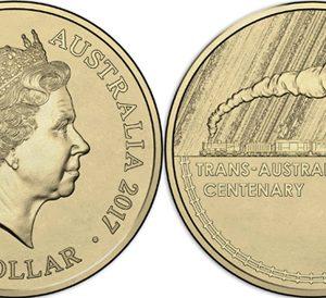 AUSTRALIA $1 2017 Trans-Australian Railways