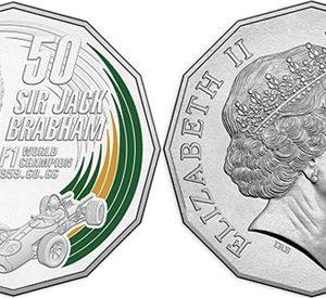 AUSTRALIA 50 Cents 2017 Sir Jack Brabham