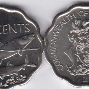 BAHAMAS 10 Cents 2010