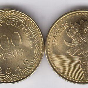 COLOMBIA 100 Pesos 2016