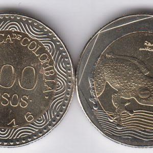 COLOMBIA 500 Pesos 2016