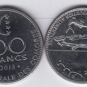 COMOROS 100 Francs 2013 UNC/SPL