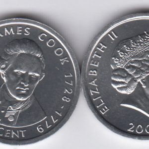 COOK 1 Cent 2003 James Cook