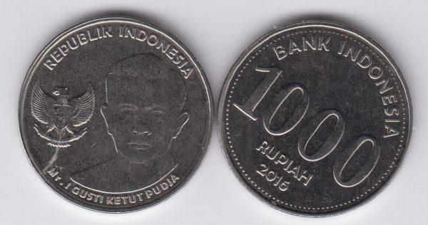 INDONESIA 1000 Rupiah 2016
