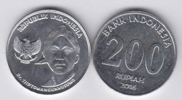 INDONESIA 200 Rupiah 2016