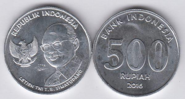 INDONESIA 500 Rupiah 2016