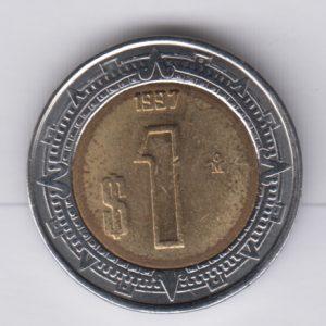 MEXICO 1 Peso 1997