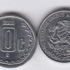 MEXICO 10 Centavos 2000