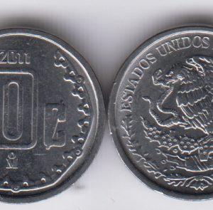 MEXICO 10 Centavos 2011