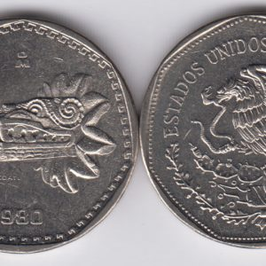 MEXICO 5 Pesos 1980