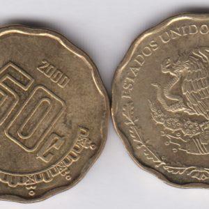 MEXICO 50 Centavos 2000