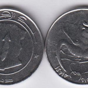 ALGERIA 1 Dinar 2010/1431