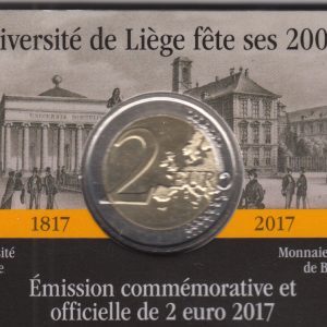 BELGIUM 2 Euro 2017 University of Liege