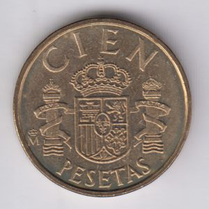 SPAIN ESPAÑA 100 Pesetas 1983