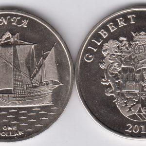 GILBERT $1 2016 Pinta