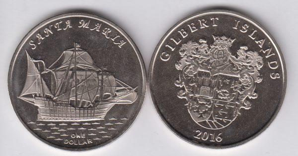 GILBERT $1 2016 Santa Maria