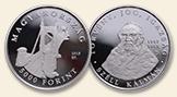 HUNGARY 10000 Forint 2015 silver Kalman Szell Proof