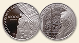 HUNGARY 10000 Forint 2015 silver Miksa Roth Proof
