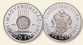 HUNGARY 10000 Forint 2015 silver Sebestyen Tinodi Proof