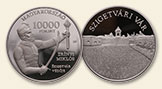 HUNGARY 10000 Forint 2016 silver Castle of Szigetvar Proof