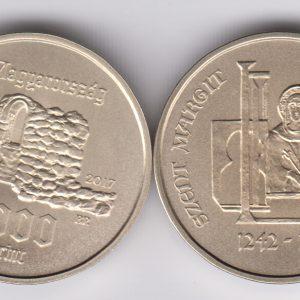 HUNGARY 2000 Forint 2017 Kossuth Zsuszanna