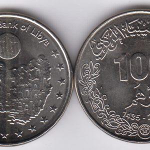 LIBYA 100 Dirhams 2012
