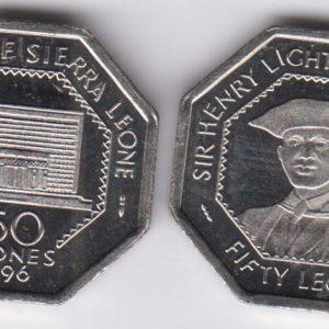 SIERRA LEONE 50 Leones 1996