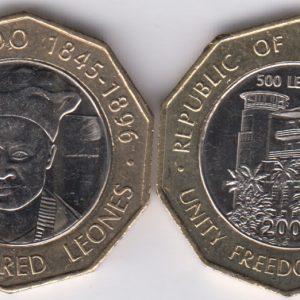 SIERRA LEONE 500 Leones 2004