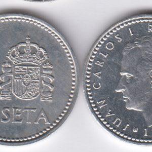 SPAIN ESPAÑA 1 Peseta 1984