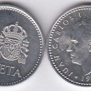 SPAIN ESPAÑA 1 Peseta 1987
