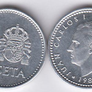SPAIN ESPAÑA 1 Peseta 1988