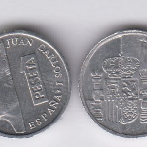 SPAIN ESPAÑA 1 Peseta 1995