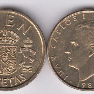 SPAIN ESPAÑA 100 Pesetas 1986