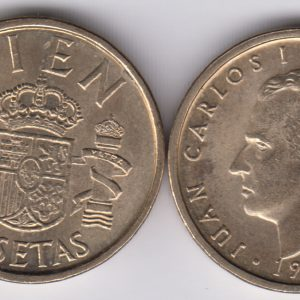 SPAIN ESPAÑA 100 Pesetas 1990